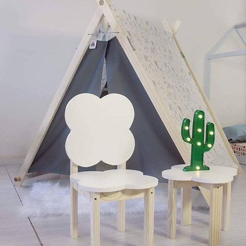 Cadeira em formato de Nuvem