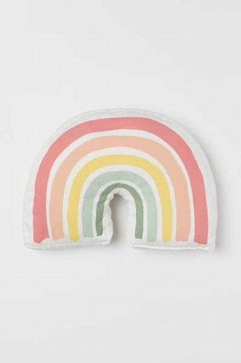 Almofada arco íris