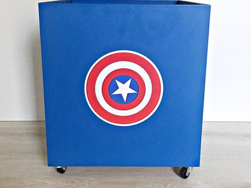 Caixa super heróis (valor unitário)