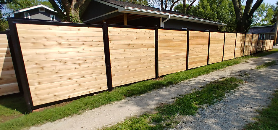 Fencetrac Horizontal Privacy Fence