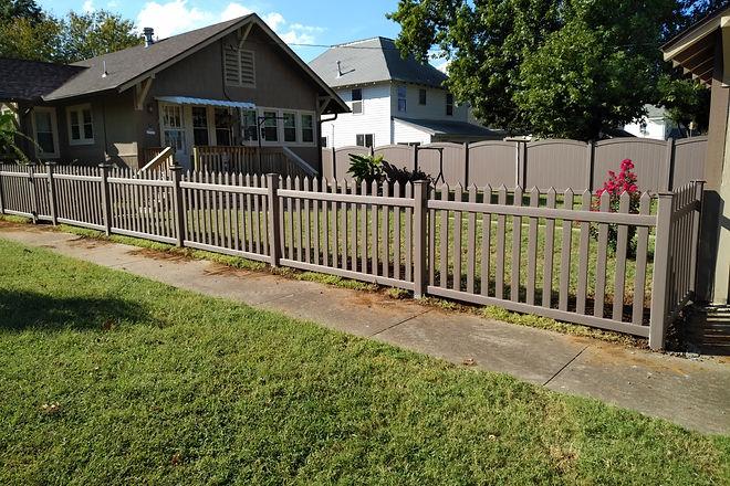 Vinyl Privacy, Vinyl Picket Fence