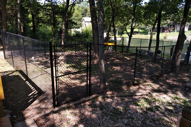 Black Vinyl Chain Link Fence