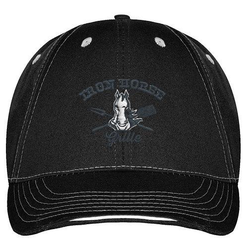 Black Panel Cap