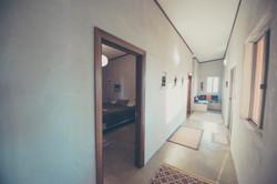 western hallway