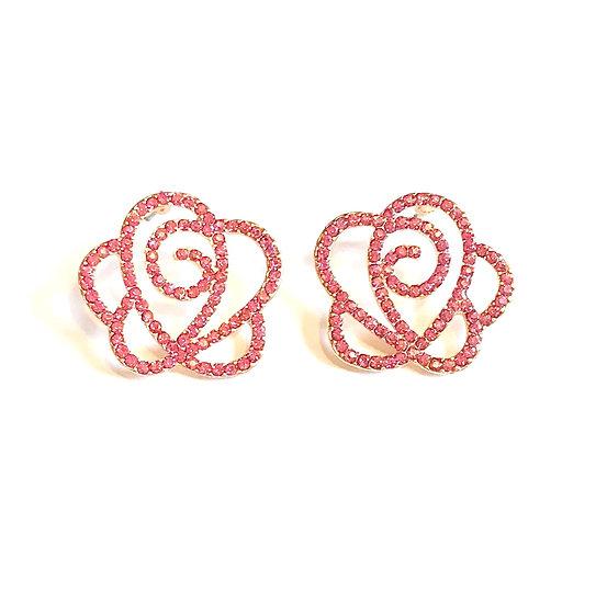 Rose Sparkle earrings