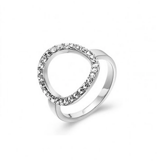 Swarovski Circle Ring