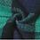 Thumbnail: Green & Navy Blanket Scarf