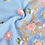 Thumbnail: Blue Embroidered Scarf