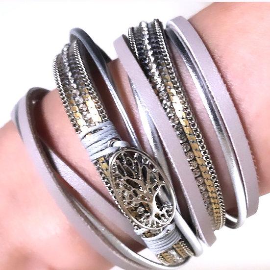 Wrap-Around Tree Of Life Bracelet.