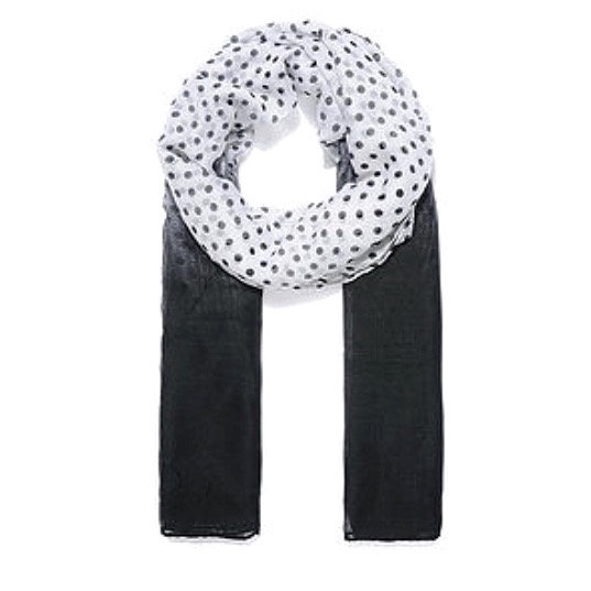 Black Dot Scarf