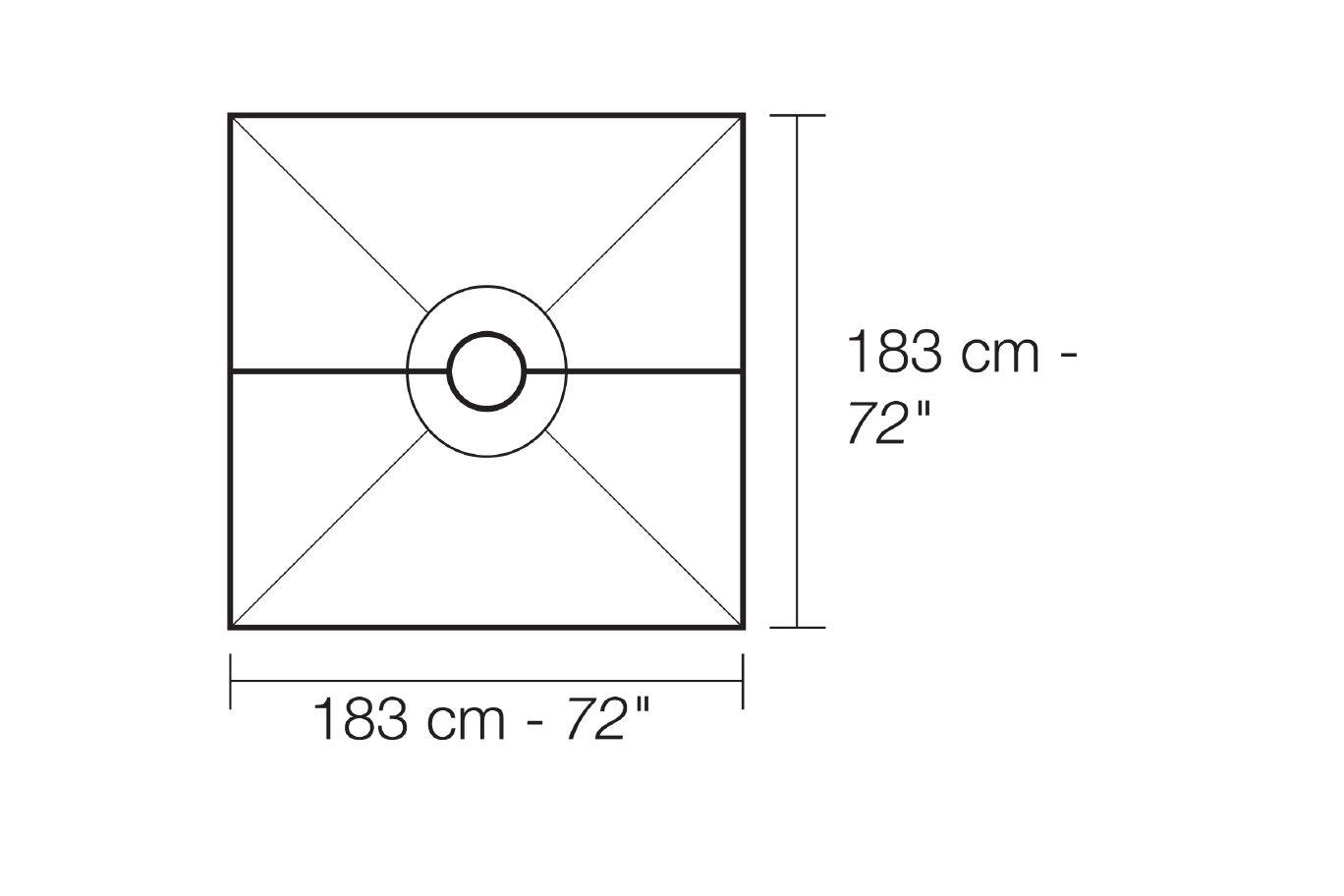 SHOWER KIT 72x72