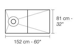 SHOWER KIT-BR 32x60