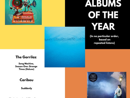 ALBUMS OF THE YEAR 2020 (1-3/13)
