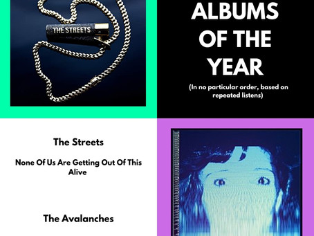ALBUMS OF THE YEAR 2020 (12-13/13)