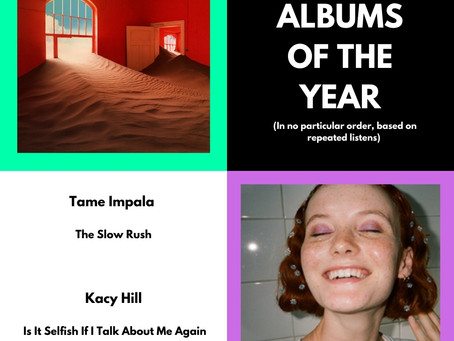 ALBUMS OF THE YEAR 2020 (6-7/13)