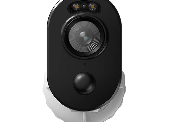Wire-Free Security Camera with Motion Spotlight