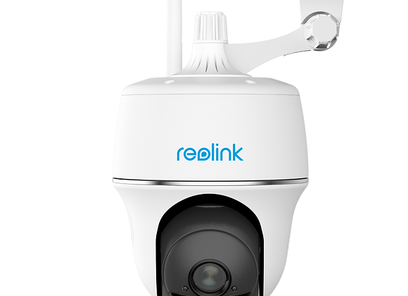 Wire-Free Pan-Tilt Security Camera with Expansive Field of View