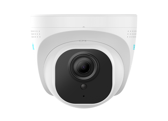 PoE Add-on Security Camera Shines with 4K