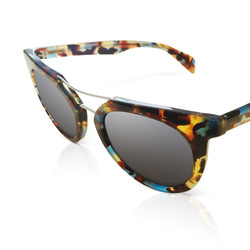 Multicolored Framed Shades