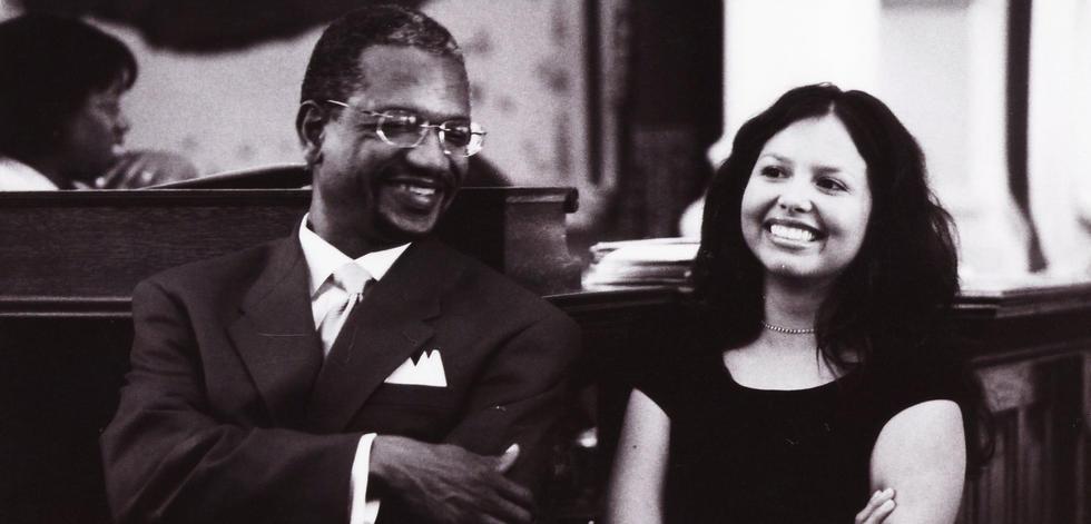 Elisa and Rep. Harold Dutton
