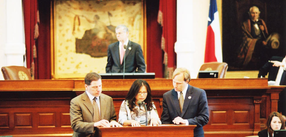 Speaking on the floor of the Texas House