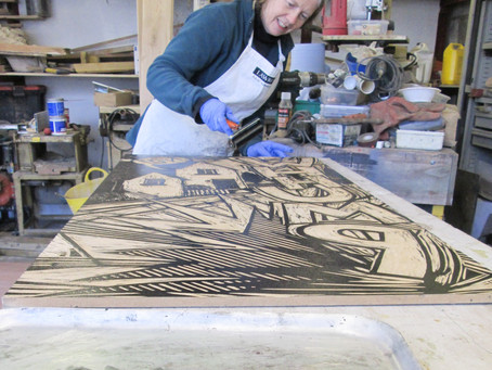 Meet the Artist Q & A: Printmaking with Amy Sterly