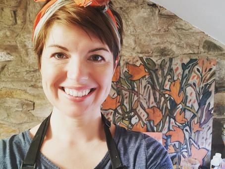 Meet the Artist Q & A : Mixed Medium with Emily Meredith