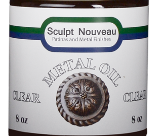 metal oil for patinas