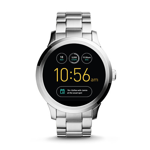 FOSSIL STAINLESS STEEL SMART WATCH