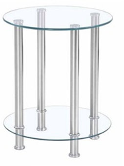 Round End Table H-02