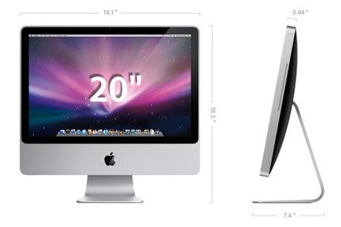 "Apple iMac 20"" 2008"