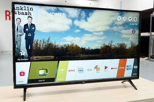 "LG 49"" 4K UHD SMART  LED TV (49UK6300)"