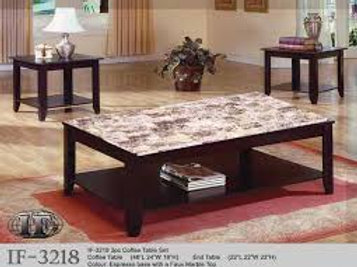 3PC COFFEE TABLE SET IF-3218