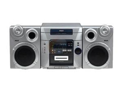 RCA 5 CD CHANGER AUDIO SYSTEM RS-2767i