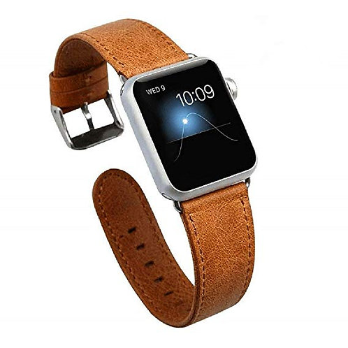 VINTAGE LEATHER STRAP FOR APPLE WATCHES