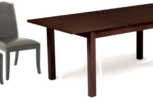 Phoenix Dining Table with 6 Button Chair
