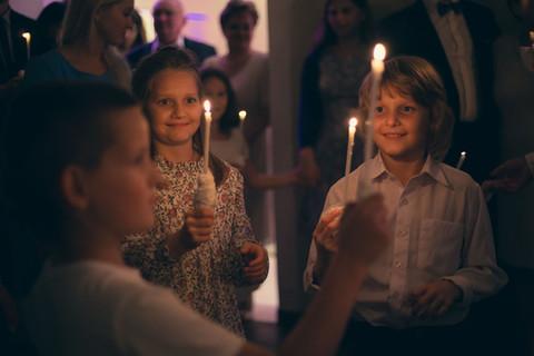 Taniec ze świeczkami