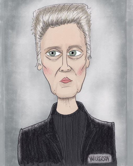 Threw some color on my Walken sketch. #d