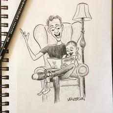 Today's daily doodle_ I thoroughly enjoy