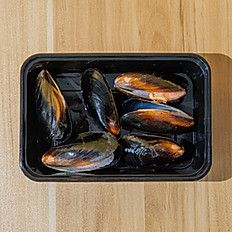 Black Mussels - 6pcs