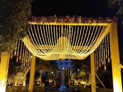 floral work wedding decoration