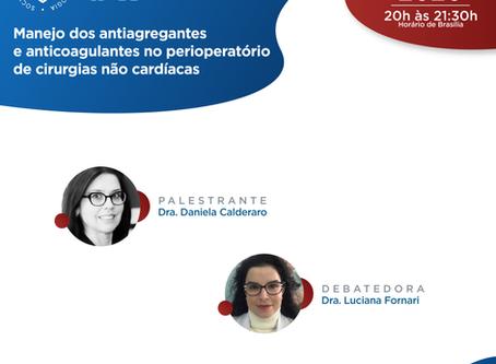 Manejo dos antiagregantes e anticoagulantes no perioperatório de cirurgias não cardíacas