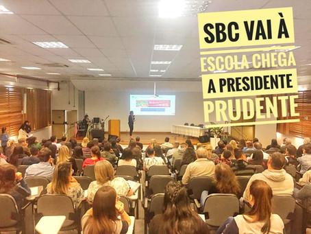 SBC vai à Escola promove formação de monitores nas cidades de Marília e Presidente Prudente