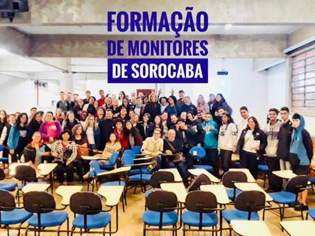 SBC vai à Escola promove formação de monitores na cidade de Sorocaba, em São Paulo