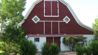 Historic Calgary: McInnes Barn (Shawnessy Community Centre)