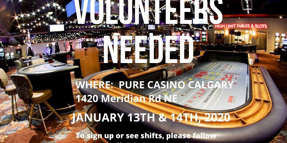 Fundraising Casino - Volunteers Needed