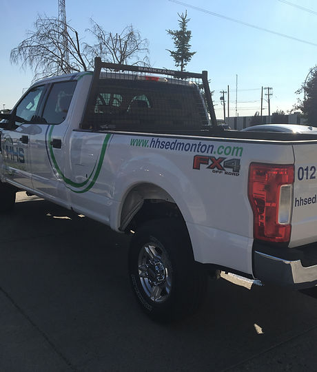 HHS Edmonton Lawn Care Service and Snow Removal Truck