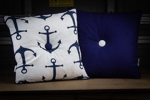 Set Anchor - Throw  Pillow w/ Insert