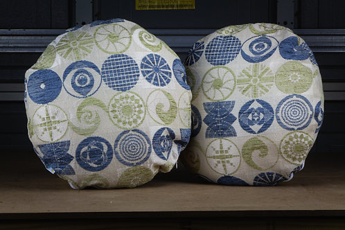 Pavilions of Tomorrow - Throw  Pillow w/ Inserts