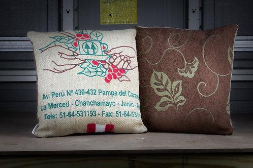 Coffee Shop - Throw  Pillow w/ Insert